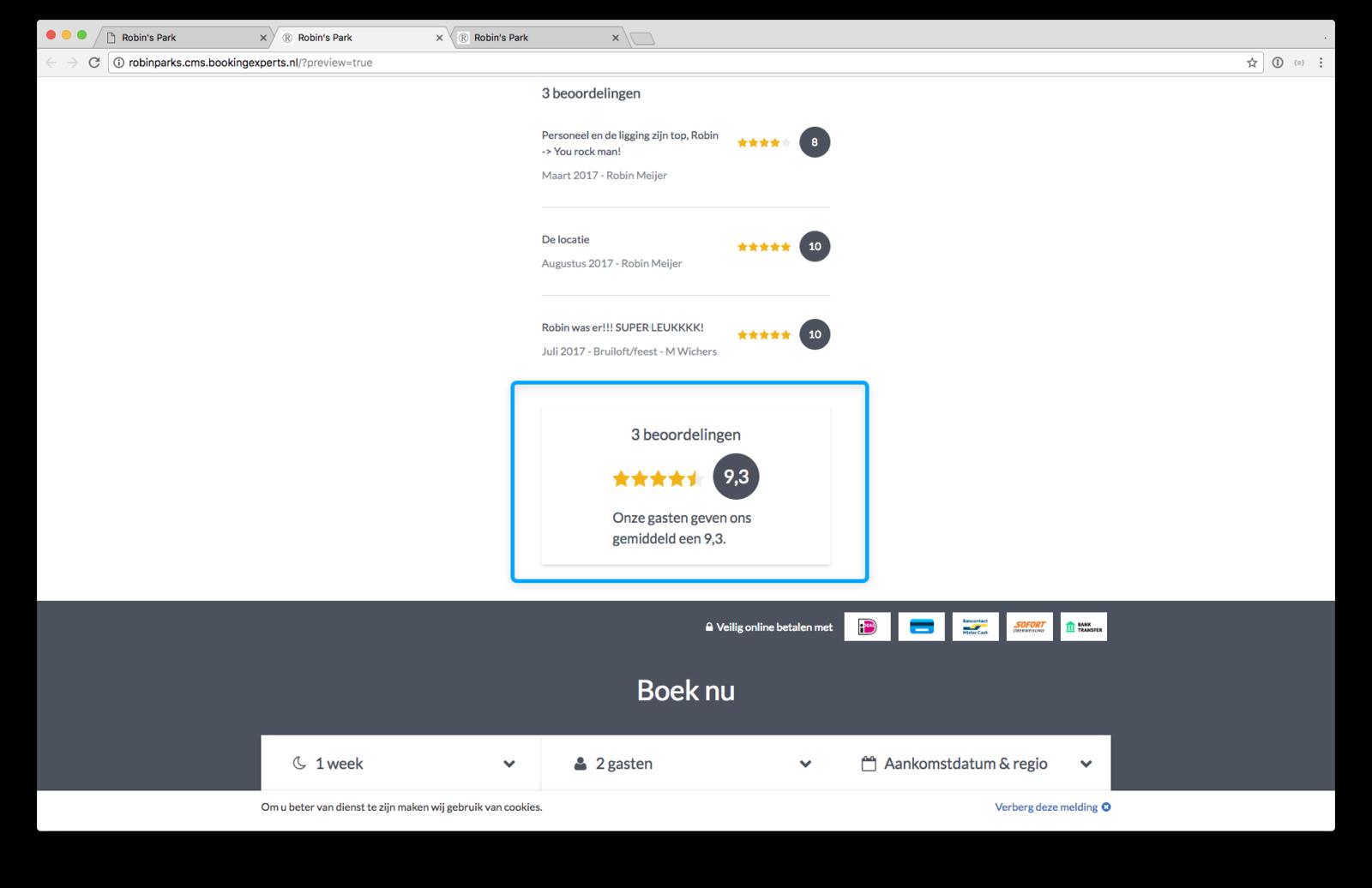 widget review website