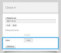 check-in meter readings