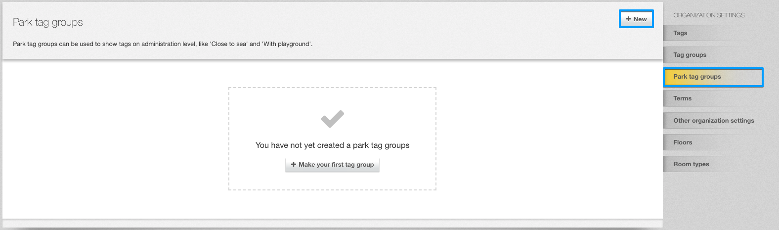 Create feature group