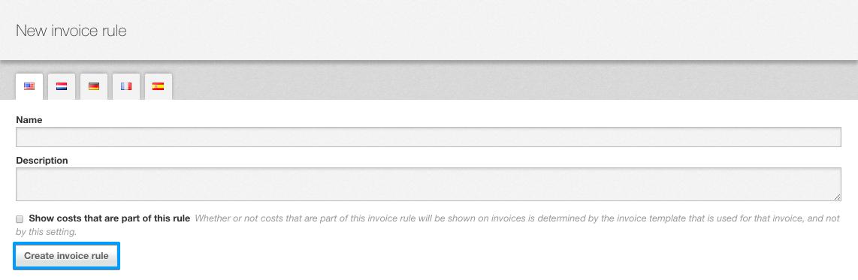 Create invoice line